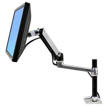 ERGOTRON LX Desk Mount Arm, Tall Pole (45-295-026)