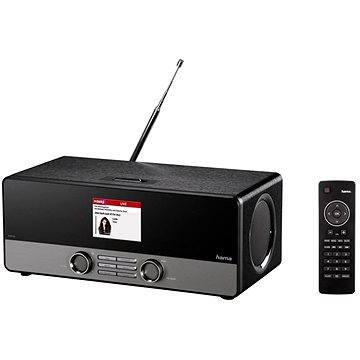 Hama DIR3100 DAB+ internetové rádio černé (54819)