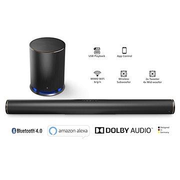 Hama Smart Soundbar SIRIUM4000ABT Alexa (54843)