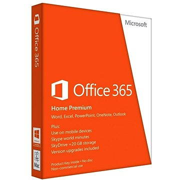 Microsoft Office 365 Home Premium ENG (6GQ-00684)
