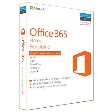 Microsoft Office 365 Home SK (6GQ-00769)