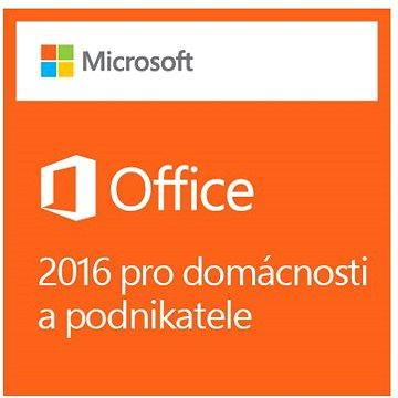 Microsoft Office 2016 pro domácnosti a podnikatele (T5D=02316)