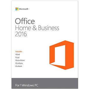 Microsoft Office 2016 Home and Business (T5D-02316) + ZDARMA Zálohovací software Acronis True Image HD OEM pro 1 PC (elektronická licence)