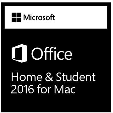 Microsoft Office Home and Student 2016 pro MAC (GZA-00550)
