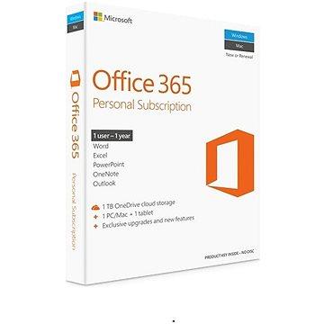 Microsoft Office 365 Personal předplatné (elektronická licence) (QQ2-00012)