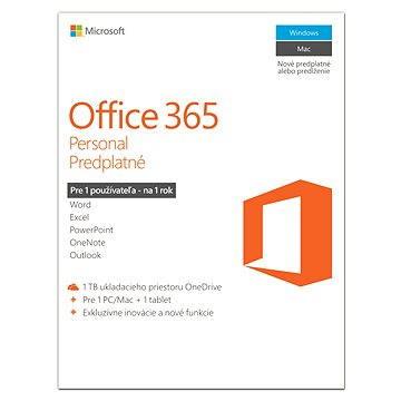 Microsoft Office 365 Personal předplatné (QQ2-00012)