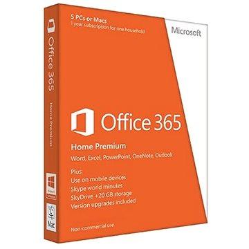 Microsoft Office 365 Home Premium (elektronická licence) - obnova (6GQ-00092)