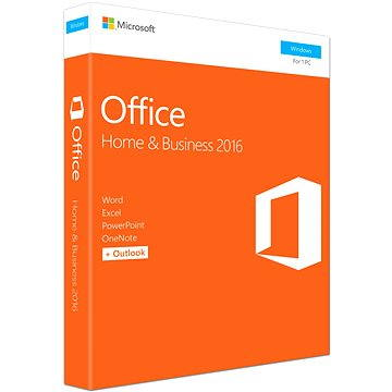 Microsoft Office 2016 Home and Business ENG (T5D-02826) + ZDARMA Elektronická licence GOPAS MS Office 2016 + MOS 2016 Core - 12 + 4 samostudijních výukových kurzů na 120 dní CZ