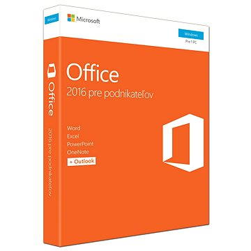 Microsoft Office 2016 Home and Business SK (T5D-02892) + ZDARMA Zálohovací software Acronis True Image HD OEM pro 1 PC (elektronická licence)
