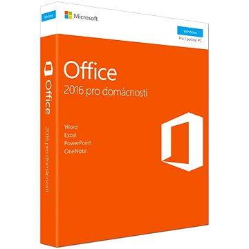 Microsoft Office 2016 pro domácnosti a studenty CZ (79G-04723)