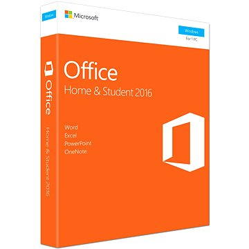Microsoft Office 2016 Home and Student ENG (79G-04597)