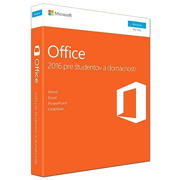 Microsoft Office 2016 Home and Student SK (79G-04709)