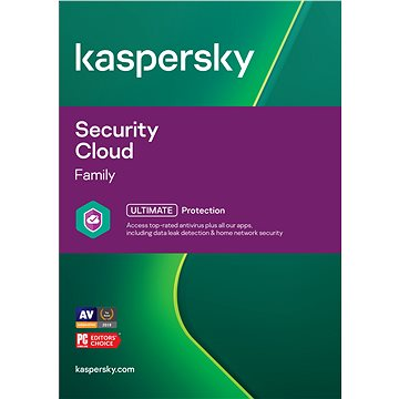 Kaspersky Security Cloud (elektronická licence)