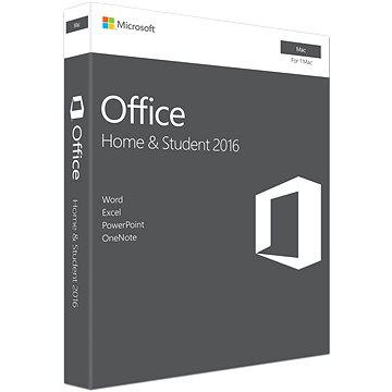 Microsoft Office Home and Student 2016 ENG pro MAC - 1 uživatel/ 1 MAC (GZA-00873)
