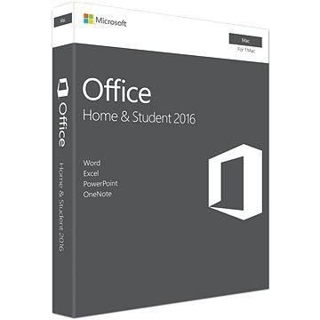 Microsoft Office Home and Student 2016 ENG pro MAC - 1 uživatel/ 1 počítač (GZA-00873)