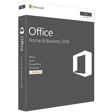 Microsoft Office Home and Business 2016 ENG pro MAC - 1 uživatel/ 1 MAC (W6F-00952)