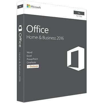 Microsoft Office Home and Business 2016 ENG pro MAC - 1 uživatel/ 1 počítač (W6F-00952)