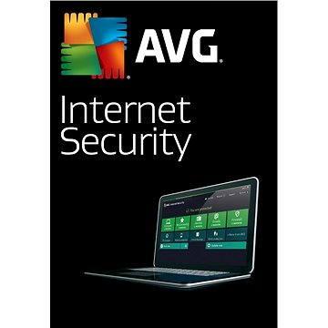 AVG Internet Security pro 3 počítače na 12 měsíců (elektronická licence) (ISCEN12EXXS003)