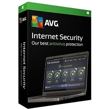AVG Internet Security pro 5 počítače na 36 měsíců (elektronická licence) (ISCEN36EXXS005)