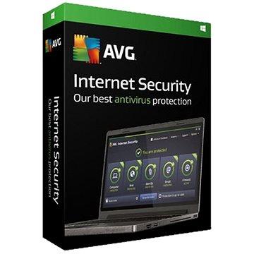 AVG Internet Security upgrade 1 počítač na 2 počítače (2217130824)