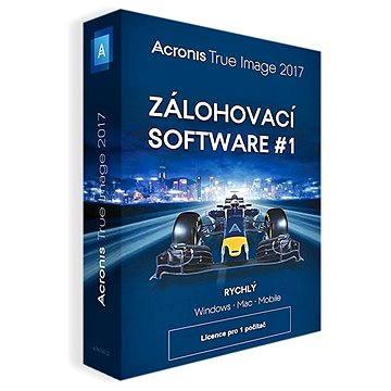 Acronis True Image 2017 CZ pro 1 PC (TIHZB2CZS)