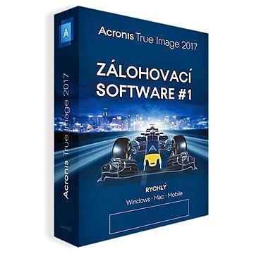 Acronis True Image 2017 CZ pro 5 PC (TH5ZB2CZS)