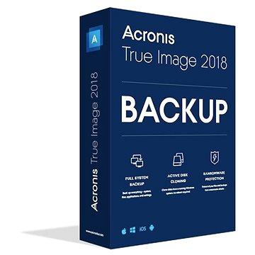 Acronis True Image 2018 CZ Upgrade pro 1 PC (TIHOUB2CZS)