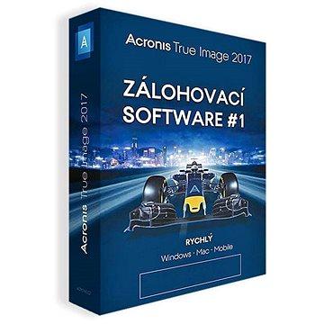 Acronis True Image 2017 CZ pro 1 PC + ZDARMA Acronis Disk Director 12 (elektronická licence) (TIHZLDDUN17)