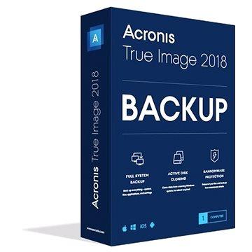 Acronis True Image 2018 CZ Upgrade pro 1 PC (elektronická licence) (TIHOU1LOS)
