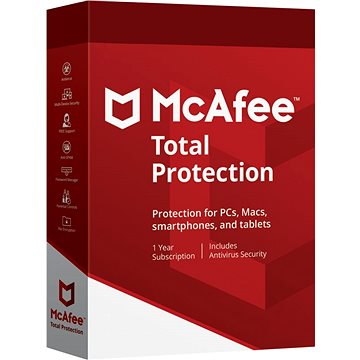 McAfee Total Protection (elektronická licence)