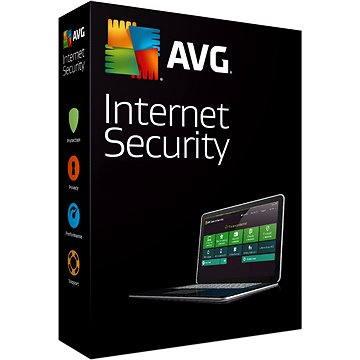 AVG Internet Security pro 1 počítač na 24 měsíců (ISCEN24DCZS001)
