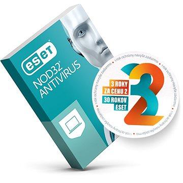 ESET NOD32 Antivirus pro 1 počítač na 24 měsíců SK (elektronická licence) (EL004A-SK)