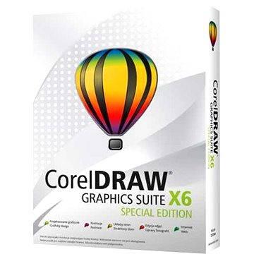 CorelDraw Graphic Suite X6 Special Edition CZ (CDGSX6SPCZPLEU)