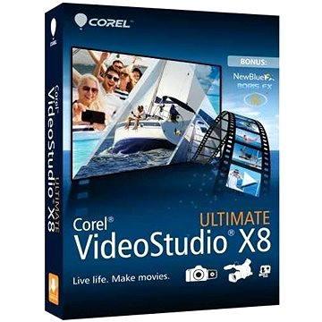 Corel VideoStudio Pro X8 ULTIMATE Mini-Box ML (VSPRX8ULMLMBEU)