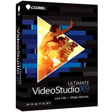 Corel VideoStudio Pro X9 Ultimate ML (VSPRX9ULMLMBEU)