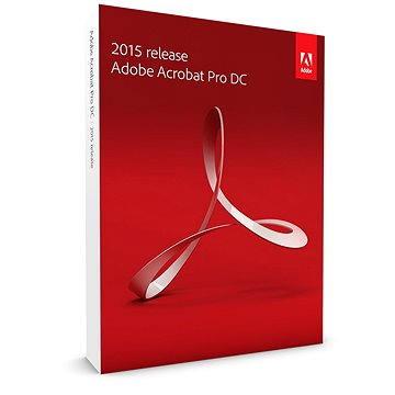 Adobe Acrobat Pro DC v 2015 CZ Upgrade (65257662)