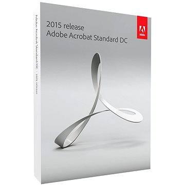 Adobe Acrobat Standard DC v 2015 CZ Upgrade (65257558)