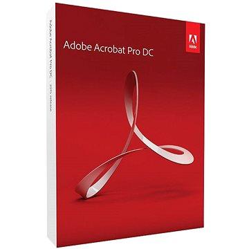 Adobe Acrobat Pro DC v 2017 CZ MAC (65280530)