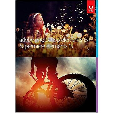 Adobe Photoshop Elements 15 + Premiere Elements 15 CZ (65273612)