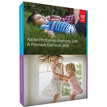 Adobe Photoshop Elements + Premiere Elements 2018 MP ENG Student & Teacher (65281556)