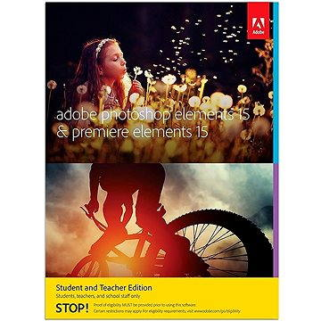 Adobe Photoshop Elements 15 + Premiere Elements 15 CZ Student & Teacher (65273316)