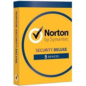 Norton Security Deluxe CZ 1 uživatel na 5 zařízení na 2 roky (elektronická licence) (21384903)