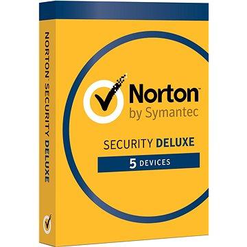 Norton Security Deluxe CZ 1 uživatel na 5 zařízení na 3 roky (elektronická licence) (21384874)