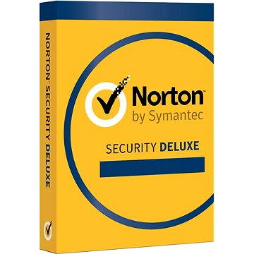 Norton Security Deluxe 3.0 CZ, 1 uživatel, 3 zařízení, 12 měsíců (elektronická licence) (21358351)