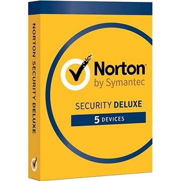 Norton Security Deluxe 3.0 CZ, 1 uživatel, 5 zařízení, 12 měsíců (elektronická licence) (21358352)