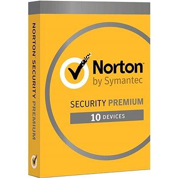 Norton Security Premium CZ, 1 uživatel, 10 zařízení, 2 roky (elektronická licence) (21386557)
