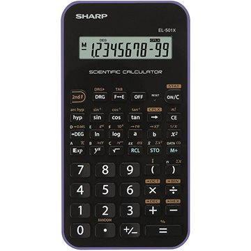 Sharp EL-501XH fialová (SH-EL501XVL)