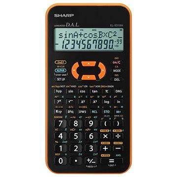 Sharp EL-531XH YRC oranžová (SH-EL531XHYRC)