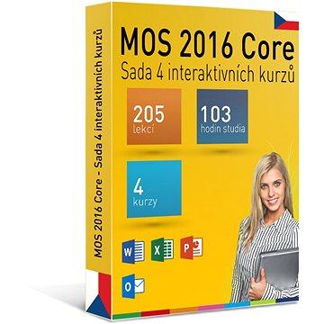 GOPAS MS MOS 2016 - Sada 4 interaktivních kurzů na 365 dní CZ (elektronická licence) (MOS2016-365CZ)