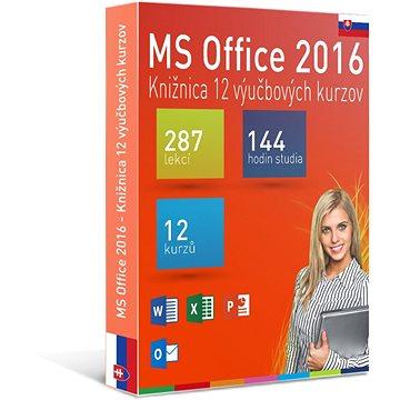 GOPAS MS Office 2016 - 12 samostudijních výukových kurzů na 365 dní SK (elektronická licence) (Office2016-365SK)